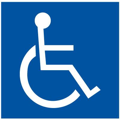 Handicap Symbol.