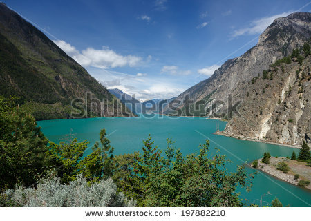 Seton Lake Stock Photos, Royalty.