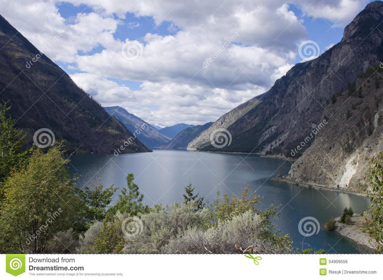 Seton Lake In BC Interior. Royalty Free Stock Image.