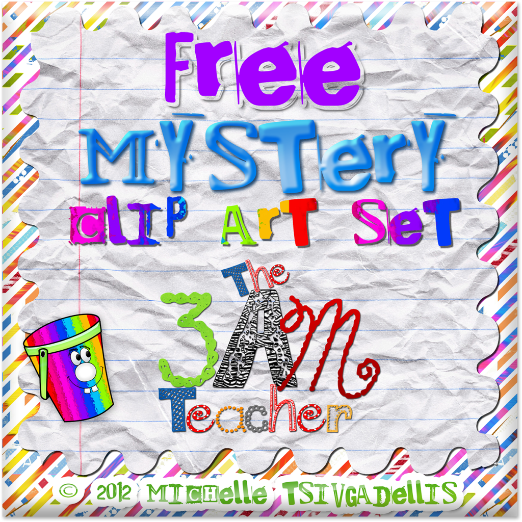 The 3am Teacher: Mystery Clip Art Sets: Free Downloads.