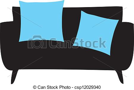 Settee Clipart Vector Graphics. 495 Settee EPS clip art vector and.