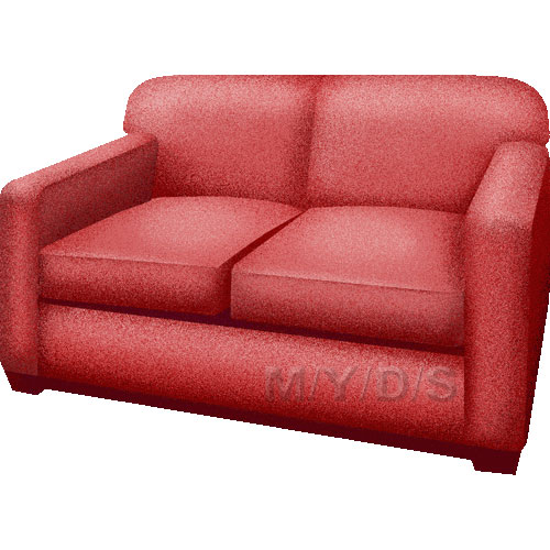 Couch, Loveseat, Settee, Sofa clipart / Free clip art.