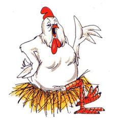 rooster hen chicken.