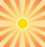 Setting Sun Graphic Clip Art Stock Images.