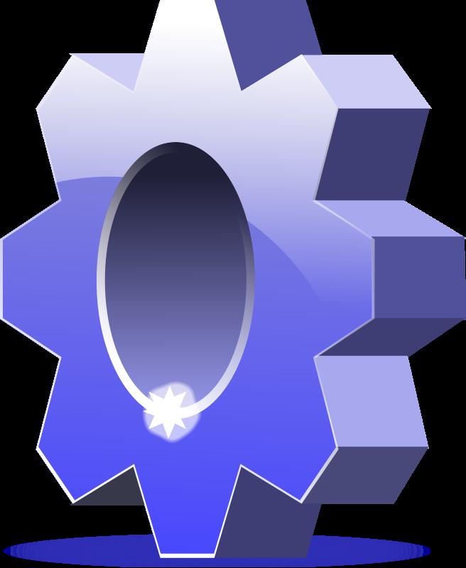 Settings Icon Clip Art Download.