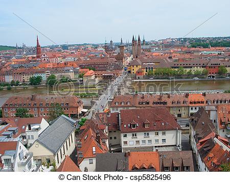 Stock Image of Wurzburg, Germany.