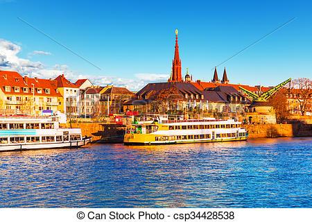 Stock Photos of Wurzburg, Bavaria, Germany.