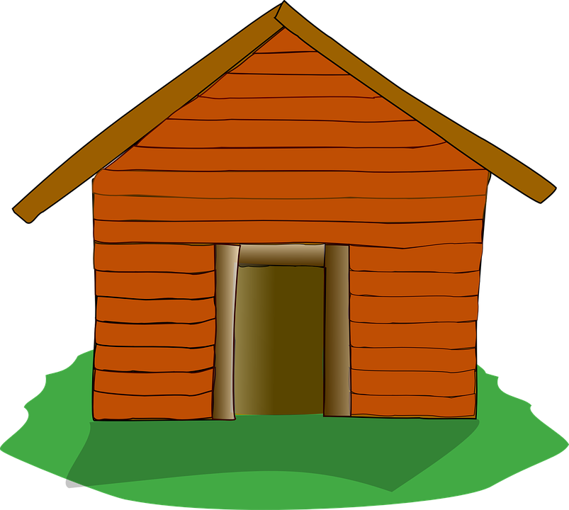 Free vector graphic: Log Cabin, Settlers Cabin, House.