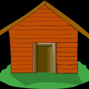 Excellent Cabin In The Woods Clipart Design.