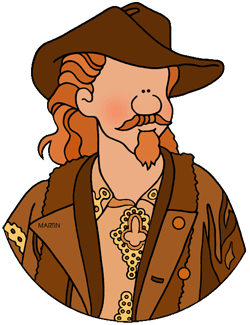 Free Settlers and Celebrities Clip Art by Phillip Martin.