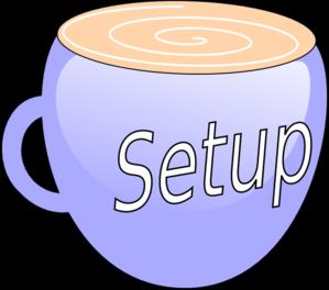 Setup Clip Art at Clker.com.
