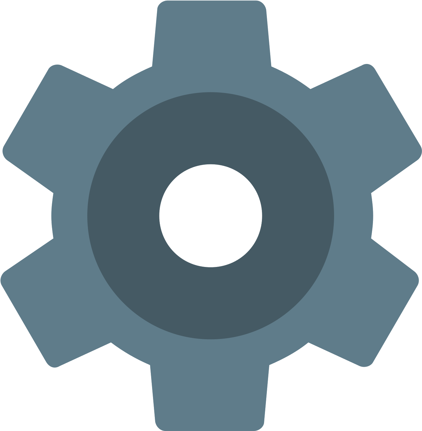 This Icon Represents Settings.
