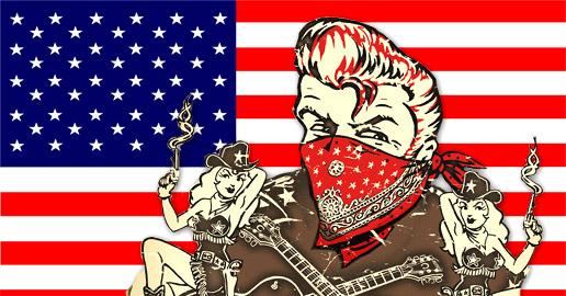 BRIAN SETZER'S ROCKABILLY RIOT! US TOUR PRE.