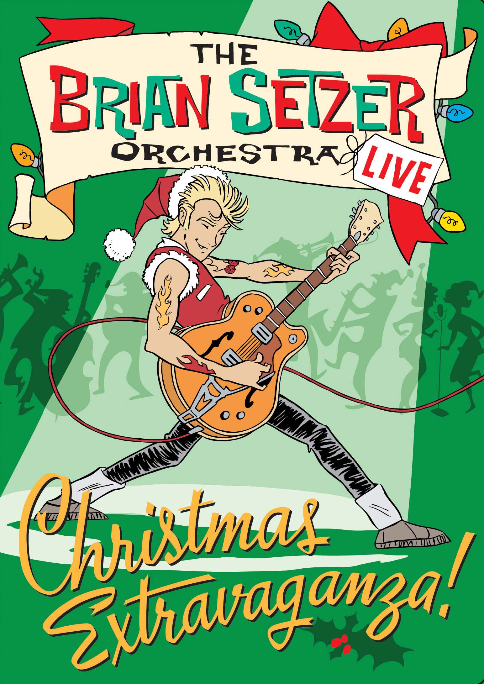 Surfdog Records » Blog Archive The Brian Setzer Orchestra.