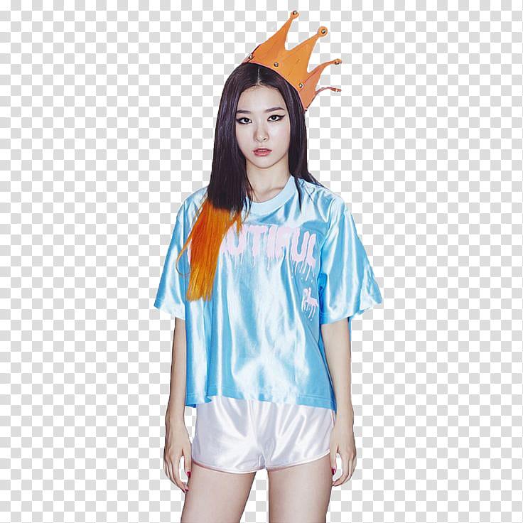 RED VELVET Kang Seulgi transparent background PNG clipart.