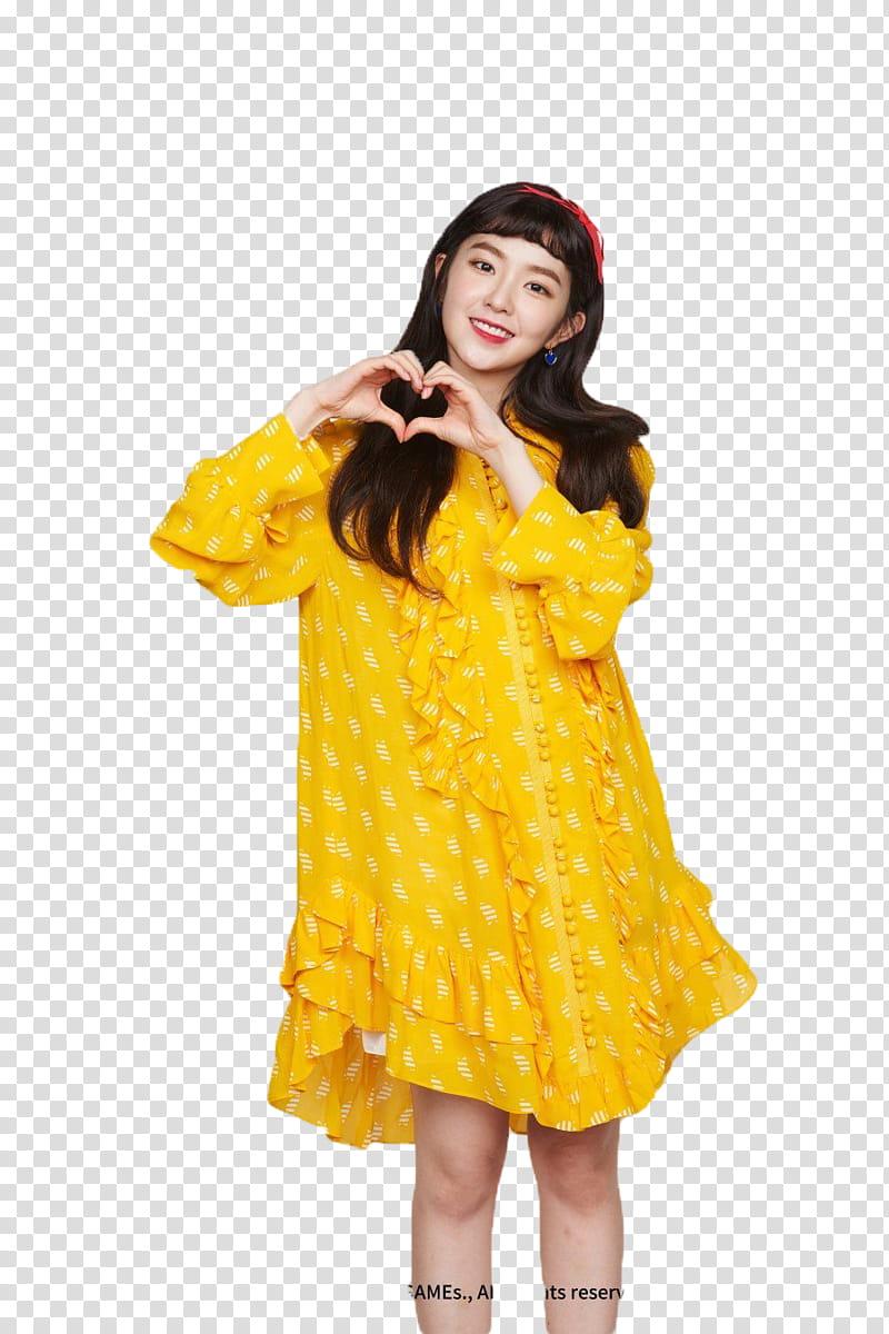 IRENE RED VELVET, Red Velvet Seulgi transparent background.