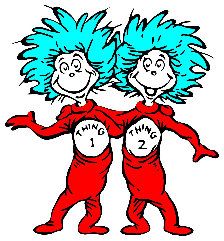 Best Dr Seuss Clip Art Free #9383.