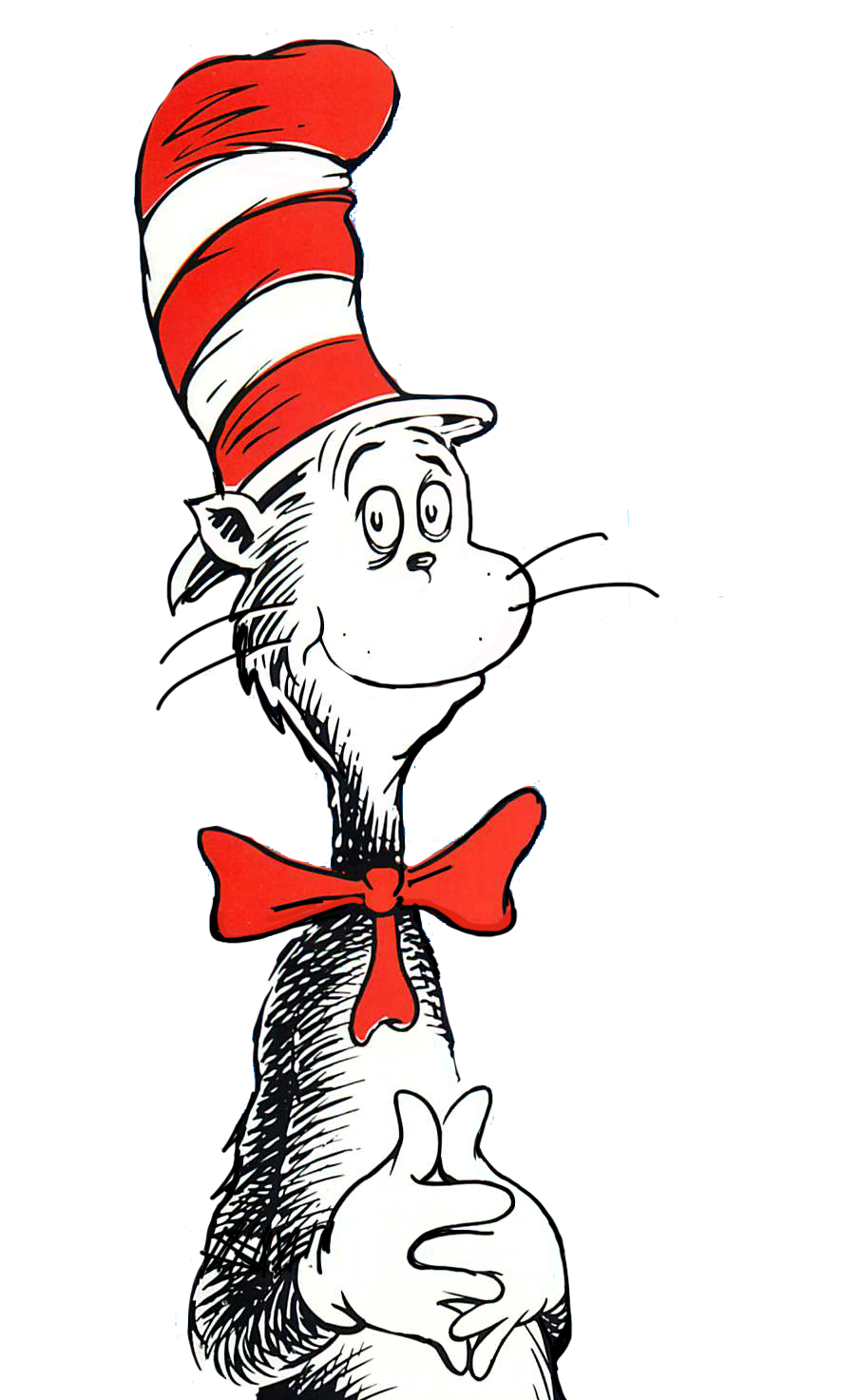 The Cat in the Hat Thing One Clip art.