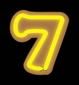 Number Seven Clip Art at Clker.com.