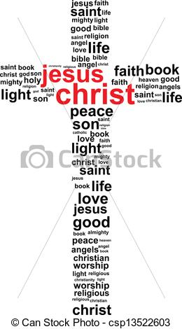 Similiar Words Of The Christ Cross From The Seven Clip Art Keywords.