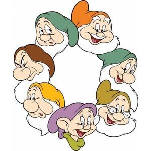 snow white & 7 dwarfs.