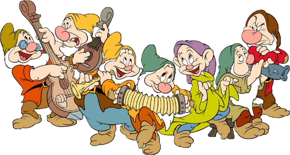 Snow White And The Seven Dwarfs Clip Art.