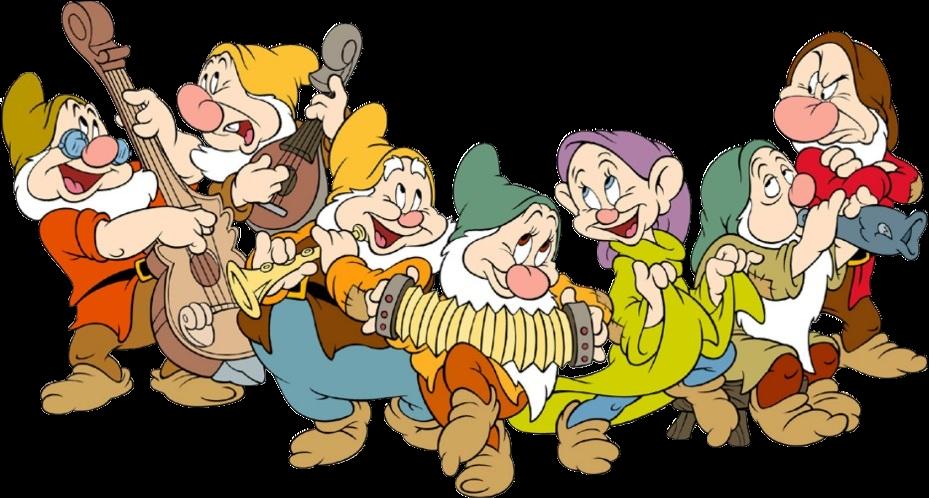 Snow White And The Seven Dwarfs Clip Art.