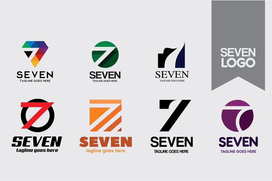 Number Seven Logo.