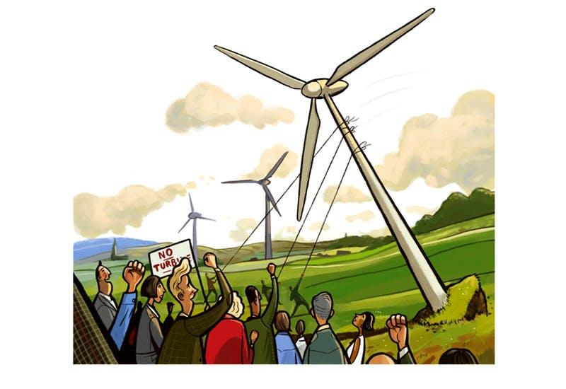 The windfarm delusion.