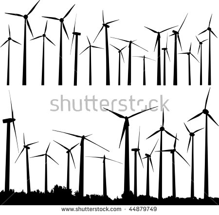 Wind Tower Stock Photos, Royalty.