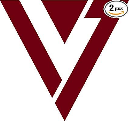 Amazon.com: ANGDEST [Set of 2] Seventeen Band Logo Kpop.