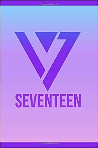 Seventeen 17 Logo KPOP Notebook Journal Diary Carats: KPOP.