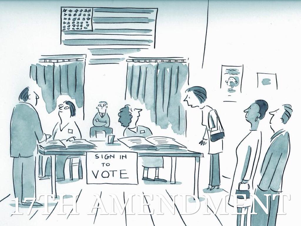 Showing post & media for Seventeenth amendment cartoon.