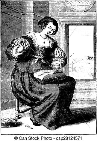 Vectors Illustration of Bourgeoisie after Michel Lasne.