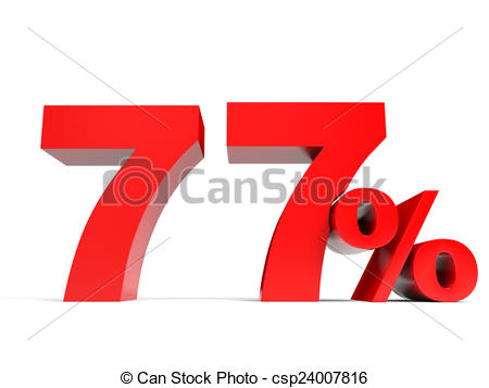 Seventy Seven Clipart.