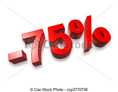 Seventy five percent Clipart and Stock Illustrations. 409 Seventy.
