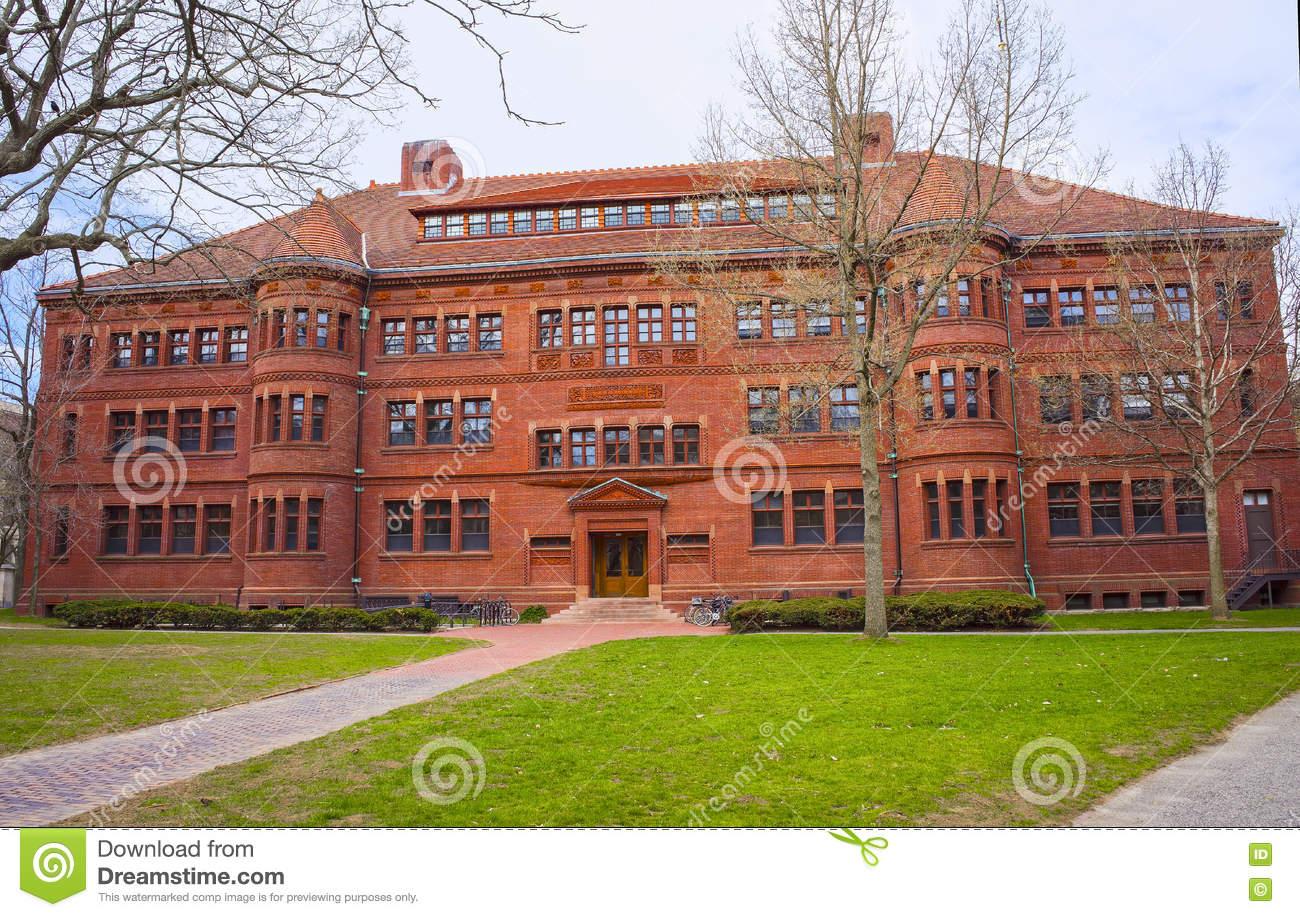 Sever Hall In Harvard Yard In Harvard University In Cambridge.