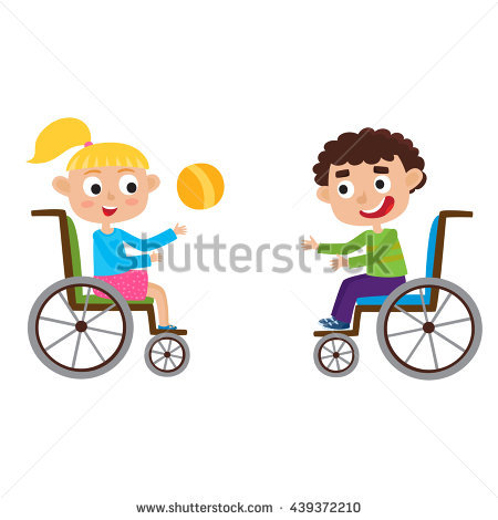 Disabled Child Stock Images, Royalty.