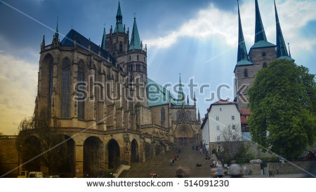 Erfurt Stock Photos, Royalty.