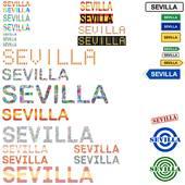 Sevilla Clip Art.