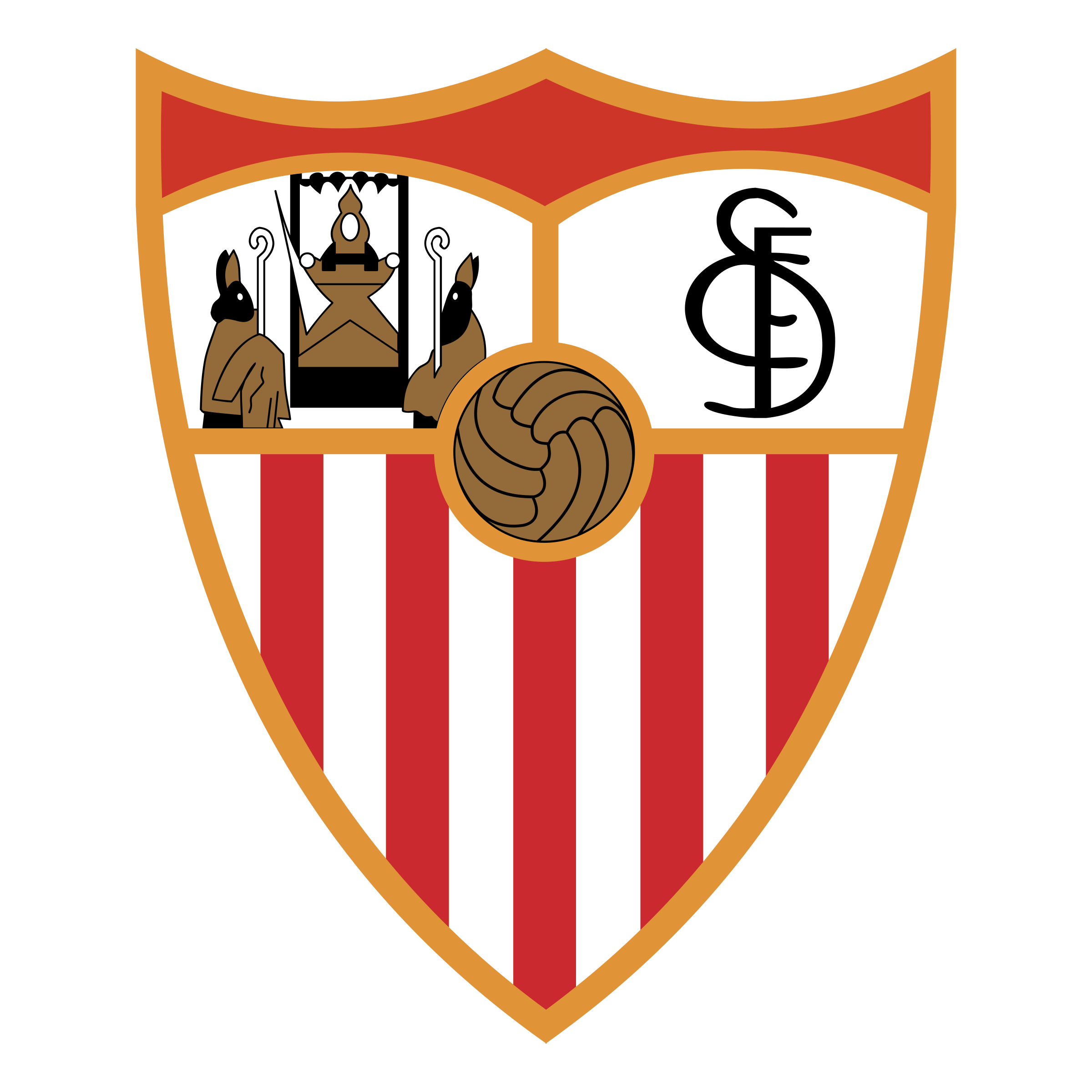 Sevilla FC Logo PNG Transparent & SVG Vector.