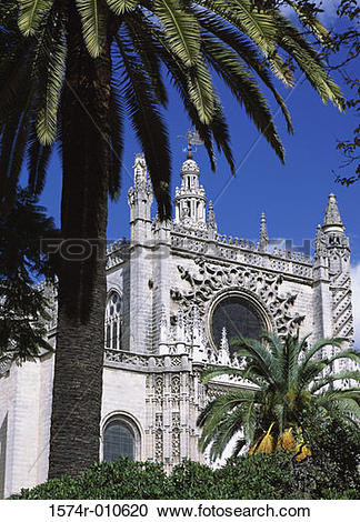 Stock Photography of La Giralda Seville Spain 1574r.