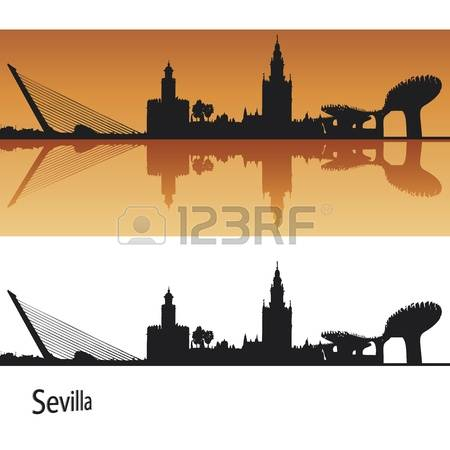 369 Seville Spain Stock Vector Illustration And Royalty Free.
