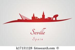 Seville Clip Art Vector Graphics. 180 seville EPS clipart vector.