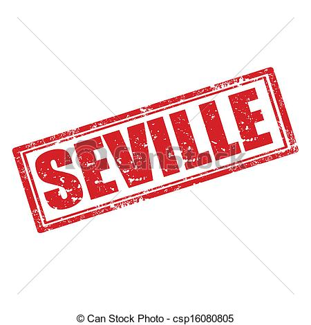 Vector Clipart of Seville.