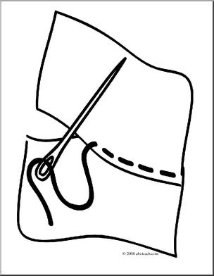 of 1 clip art basic words sew.