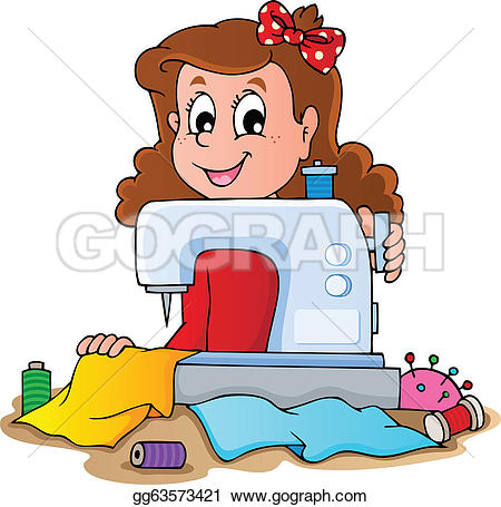 sewing equipment clipart #12
