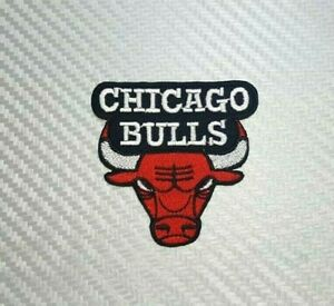 Details about Chicago Bulls SPORTS NBA TEAM BASKETBALL BADGE Embroidered  Patch Iron Sew Logo.