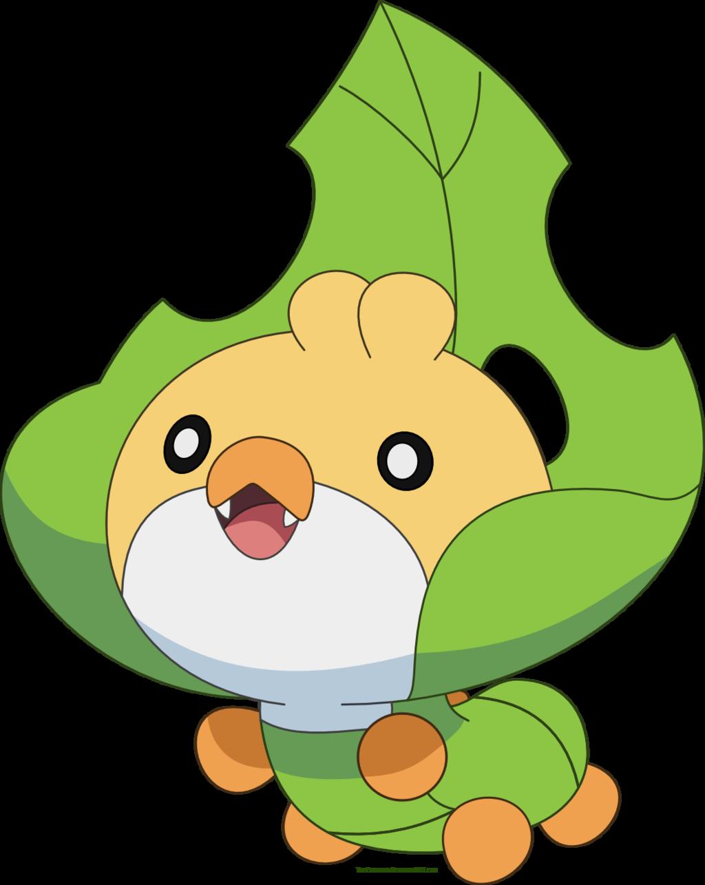 Free Sewaddle Pokemon vector by Emerald.