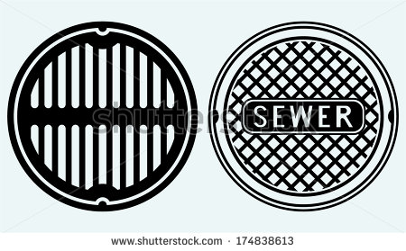 Sewer Stock Photos, Royalty.